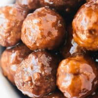 Crock Pot Meatballs