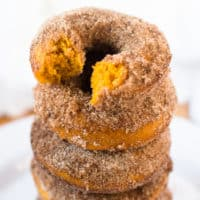 Baked Pumpkin Cake Donuts
