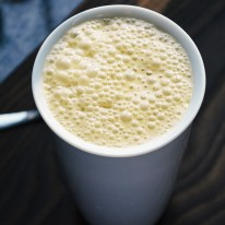 Pumpkin Latte Recipe - Whip up this fabulous pumpkin latte recipe when you're craving a pumpkin dessert or just need a hot pick me up. Perfect to cozy-up with on chilly fall days!