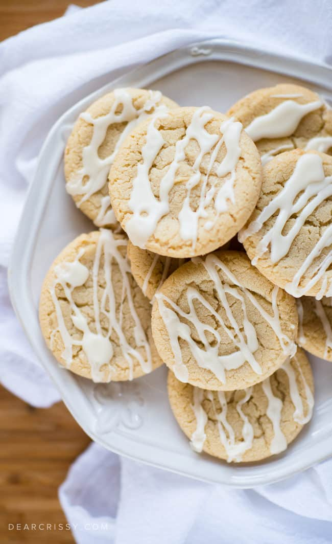 Soft Maple Sugar Cookies - These melt-in-your-mouth maple sugar cookies are perfect for the holidays!
