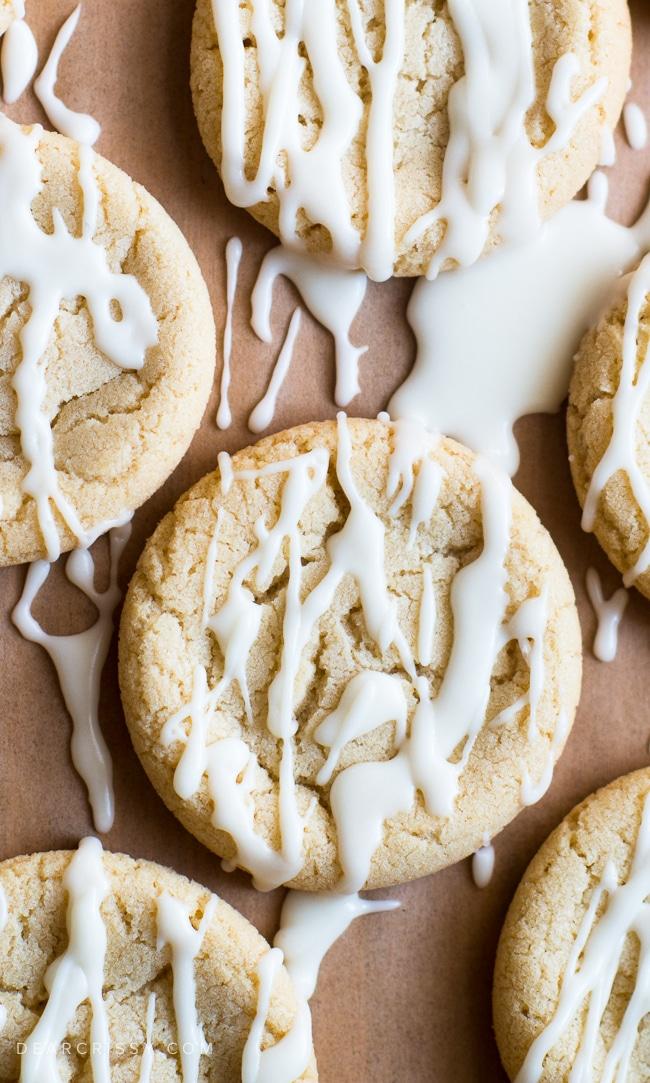 Soft maple sugar cookies recipe