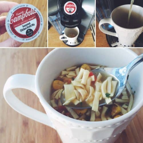 Campbell's Fresh Brewed Soups - Loving these, you can make them with your Keurig! #RealRealLife