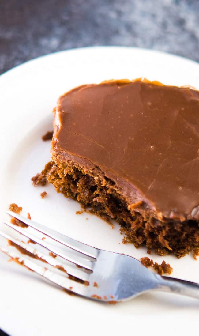 Classic Chocolate Sheet Cake Recipe - This delicious sheet cake (some call it a Texas Sheet cake or a sheath cake) is rich and dense, almost like a brownie. Whatever you call it, it's just plain good!