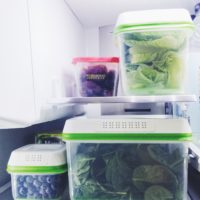 Loving the FreshWorks Produce Saver for keeping my fruits and veggies fresher, longer.