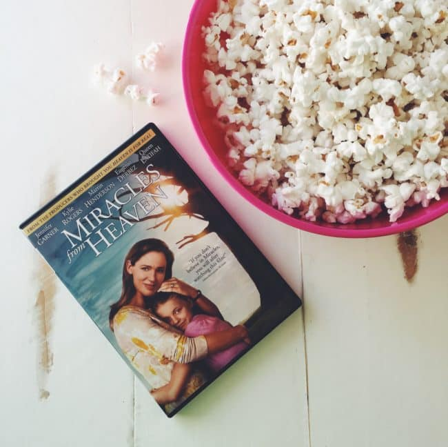 'Miracles From Heaven' is a wonderful family movie that reminds who is truly in control. #MiraclesFromHeaven