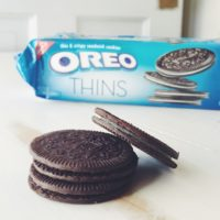 Oreo Thins - The perfect thin and crispy snack when you just need a little treat!