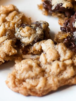 Chocolate Chunk Oatmeal Cookies
