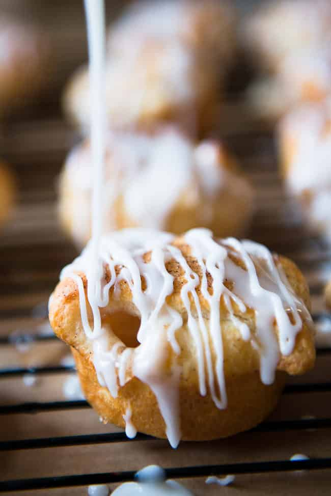 Easy Apple Pie Bites - These delicious little mini apple pies are made with Pillsbury Crescent Rolls and apple pie filling. They take just minutes to whip up and taste like heaven.