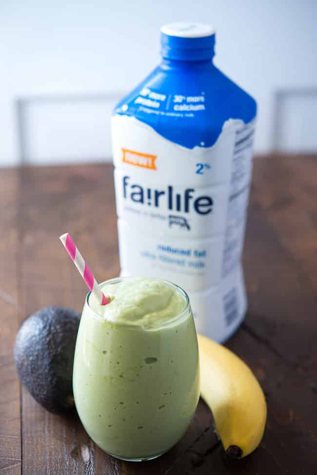 Banana Avocado Smoothie Recipe - This rich and delicious smoothie is loaded with protein to fuel your day!