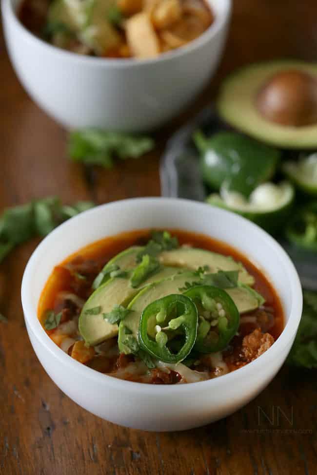 chorizo taco chili