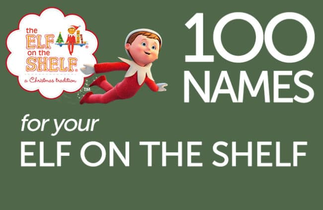 100 Elf on the Shelf Names Printable