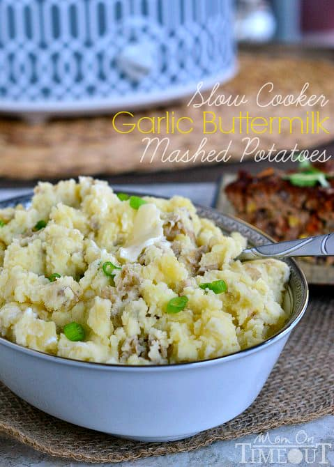 garlic buttermilk mashed potatoes
