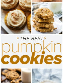 The Best Pumpkin Cookie Recipes - it's true, this list is worth saving!