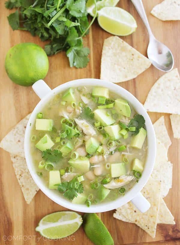salsa verde chicken white chili