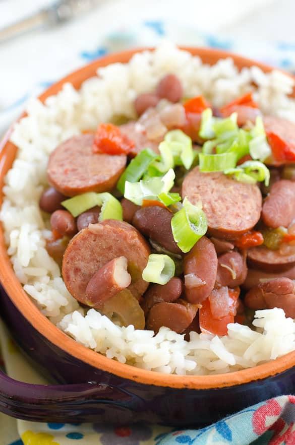 sausage beans