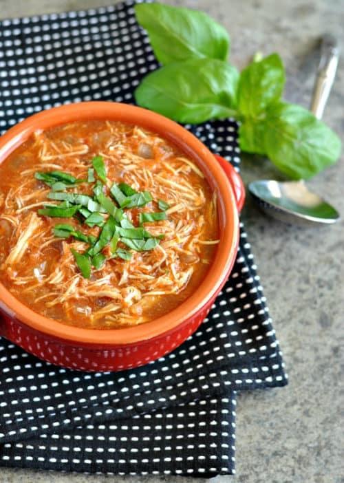 Chicken Parmesan Soup Recipe