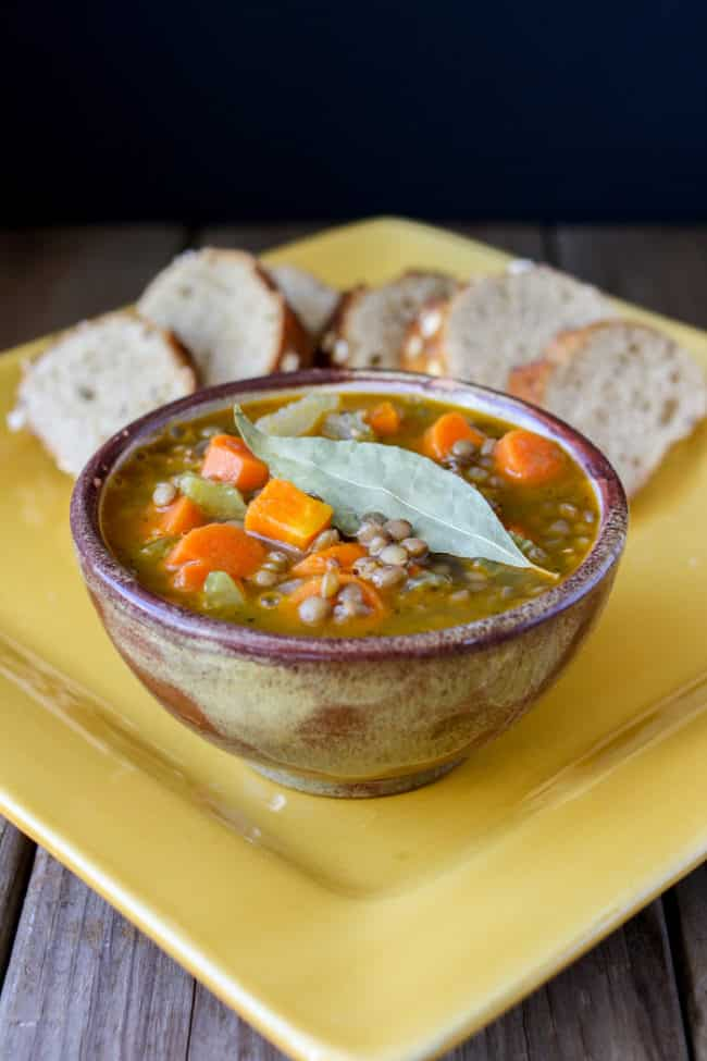 Greek Lentil Soup Recipe