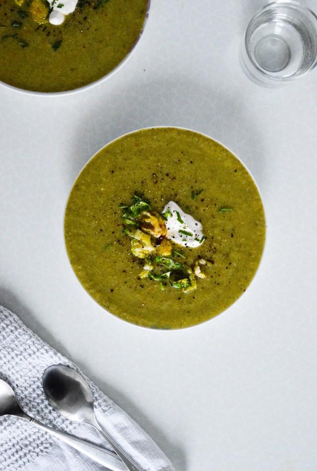 Winter Green Soup Recipe