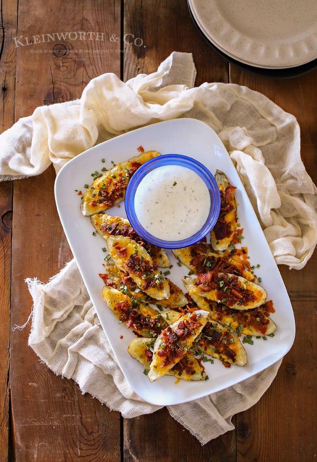 20 Minute Potato Wedges Recipe