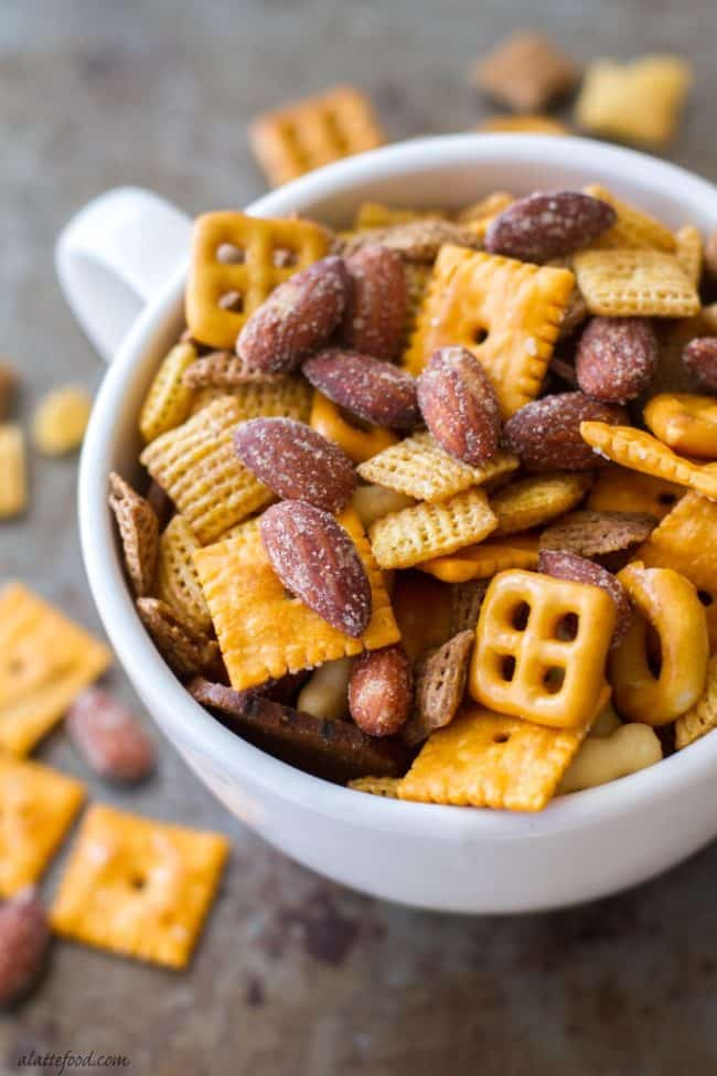 Barbecue Smokehouse Party Snack Mix Recipe