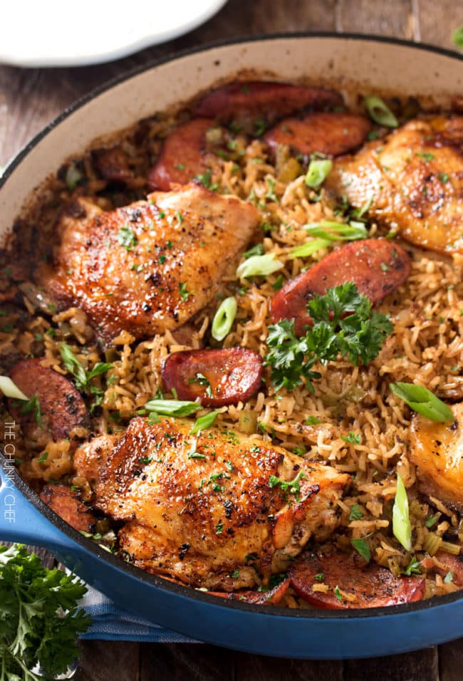 One Pot Chicken and Dirty Rice Recipe