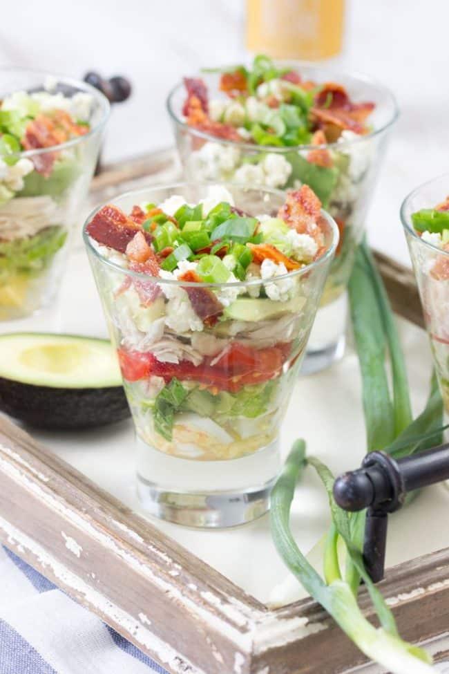 Cobb Salad Cups Recipe