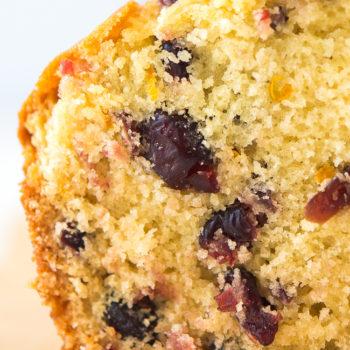 Orange Cranberry Bread Recipe - This quick bread recipe is easy, moist and delicious.