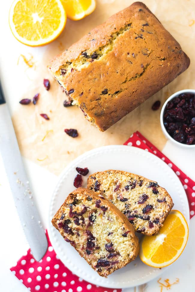 Orange Cranberry Bread Recipe - This quick bread recipe is easy, moist and delicious.