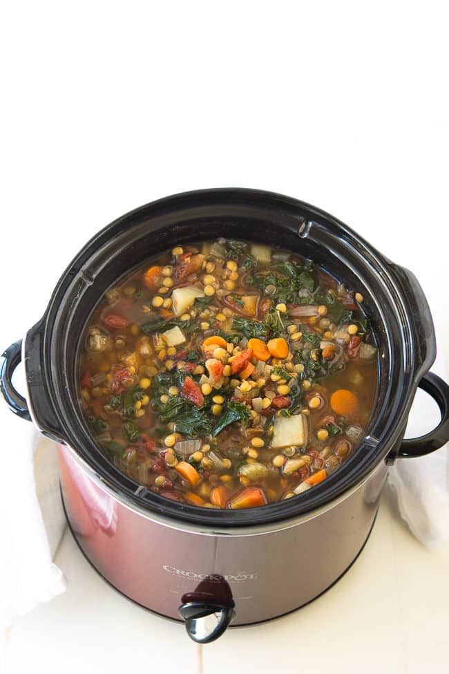 Oct 09,  · Directions to make Crock pot Vegetable beef soup: 1. If using ground beef or turkey, cook meat and onions until golden brown. 2. Add to slow cooker along with all other ingredients. 3. Cook on low for 4 hours. 4. Serve hot and enjoy! You could also cook this slow cooker vegetable beef soup recipe on the stovetop. Just simmer for about 45 radiance-project.mlgs: