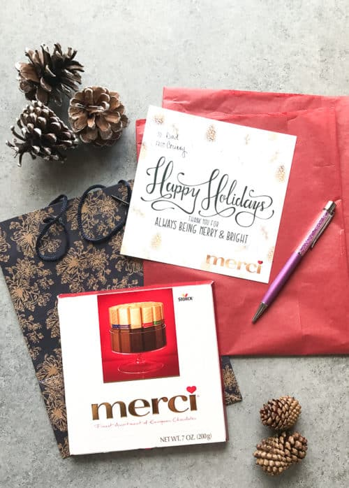 Give a thoughtful gift this holiday season when you #GiveMerci