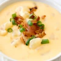Crock Pot Cheesy Potato Soup Recipe