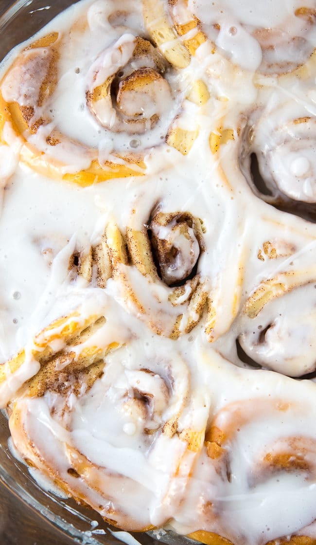 Easy Biscuit Cinnamon Rolls - The easiest way to make cinnamon rolls at home using canned biscuits!