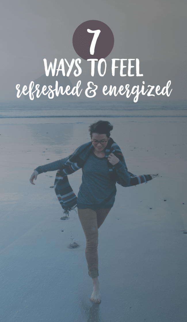 7 Ways to Feel Refreshed & Energized - Ever wonder why you feel tired all the time? These tips will help give you a boost of energy!