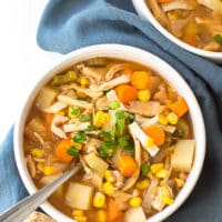 Crock Pot Spicy Chicken Soup