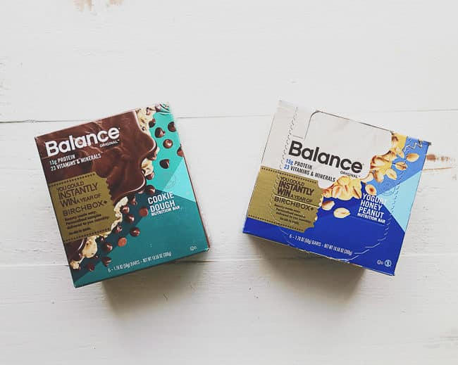 Smart Snack Idea: Balance Bars