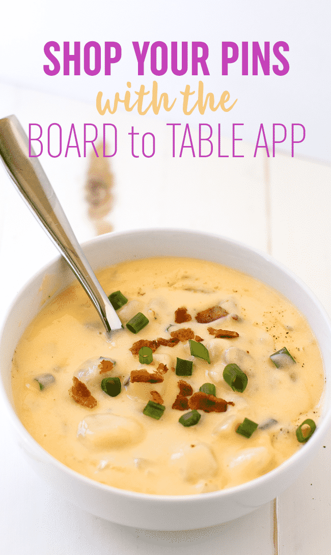 Easily Shop your Pins with Kroger's Board to Table App #BoardToTable