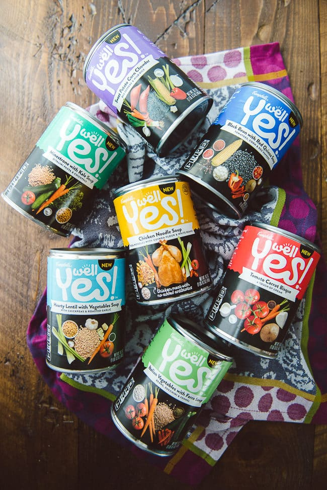 Campbell's Well Yes! Soup + DIY Coffee Filter Snowflakes!