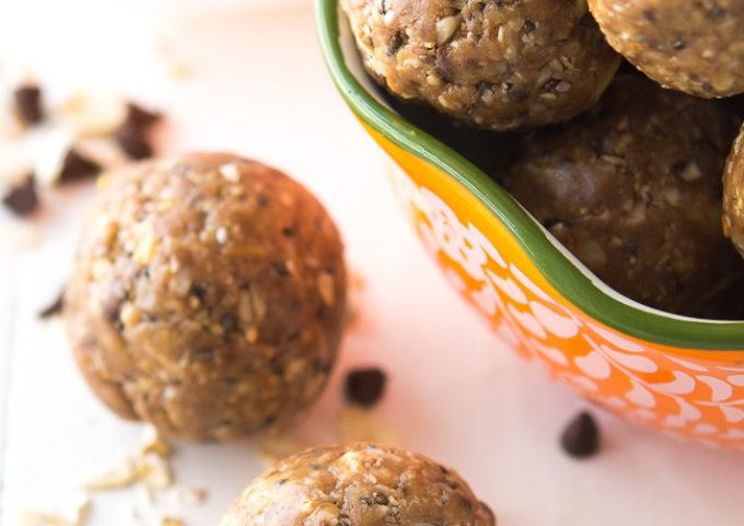 Peanut Butter Protein Bites Recipe   Energy Bites   Energy Balls   No Bake Protein Balls   Chocolate