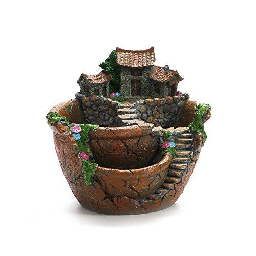Best Fairy Garden Broken Pot Planters - Fairy Gardens | Gardening | Planters