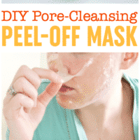 DIY Pore-Cleansing Peel Off Mask | Blackhead Mask | Gelatin Peel Off Mask | DIY Pore Strips