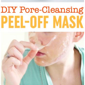 DIY Pore-Cleansing Peel Off Mask | Blackhead Mask | Gelatin Peel Off Mask | DIY Pore Strips