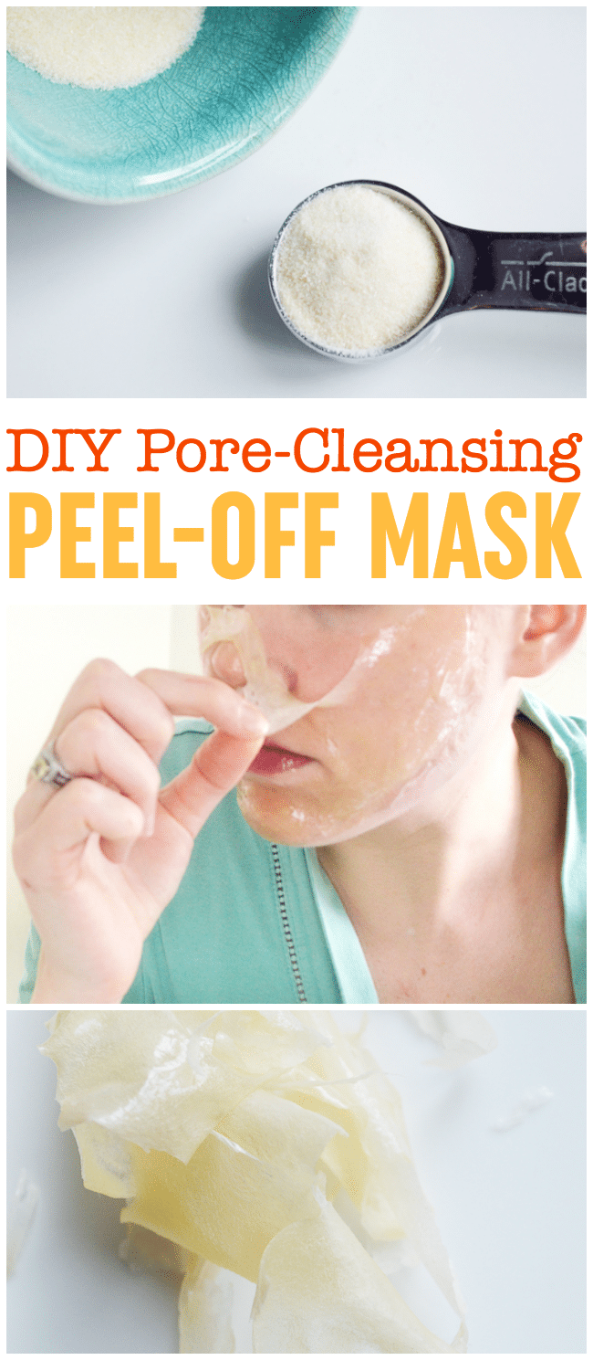 Diy peel off mask pore cleansing blackhead busting face mask diy peel off mask solutioingenieria Images