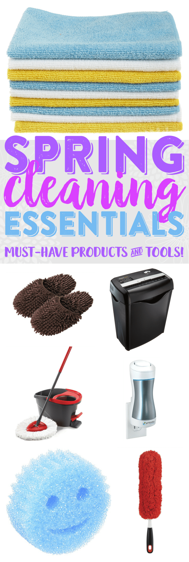 Spring Cleaning Essential Products | Cleaning Tools and Tips | Spring Cleaning and Organization Must-Haves