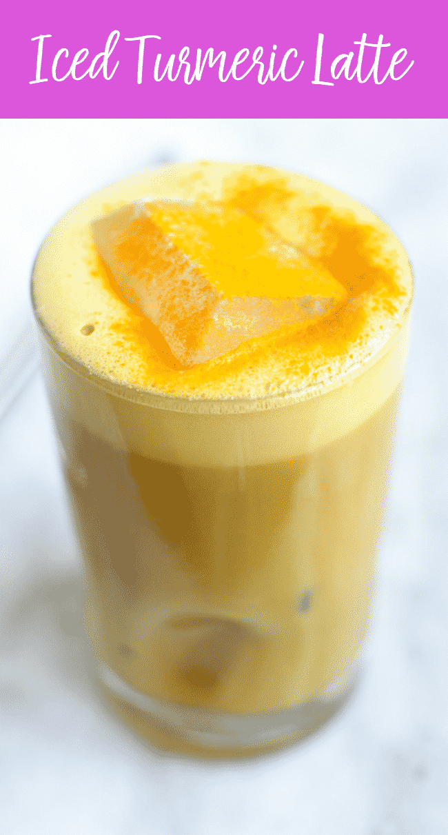 Iced Turmeric Latte Recipe | Turmeric Latte | Anti-Inflammatory | Healing | Cold and Flu Busting