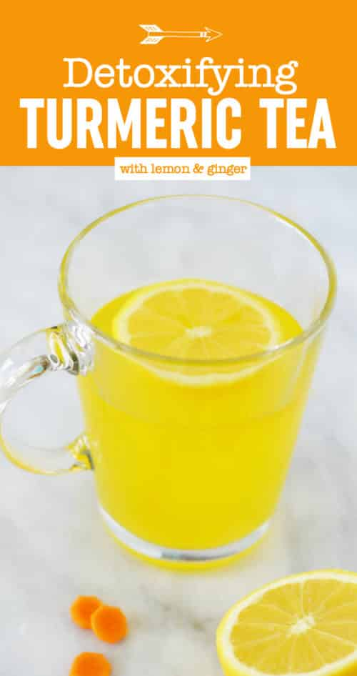Detox Turmeric Tea Recipe | Turmeric, Honey, Ginger Tea | Healing | Anti-inflammatory Tea