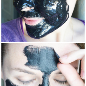 DIY Charcoal Peel-Off Face Mask | Blackhead Peel Off Mask | Homemade Charcoal Mask | Exfoliating Facial DIY