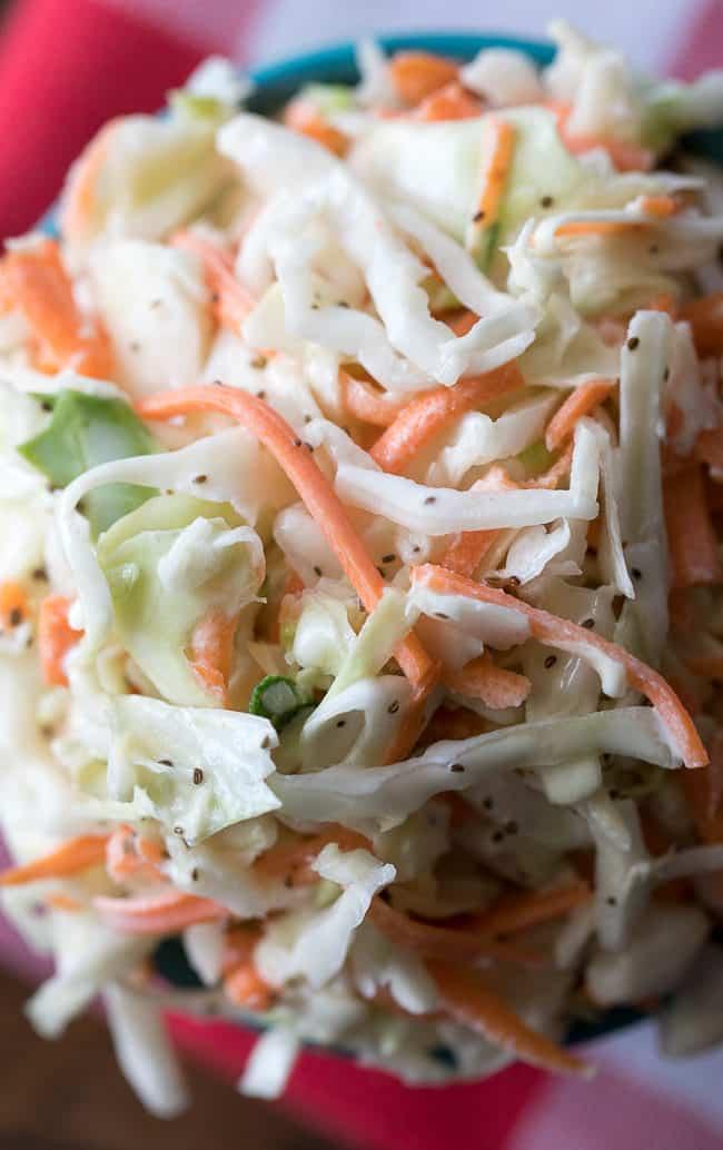 Best Sweet Coleslaw Recipe | Restaurant Style Coleslaw | Easy Sweet Coleslaw