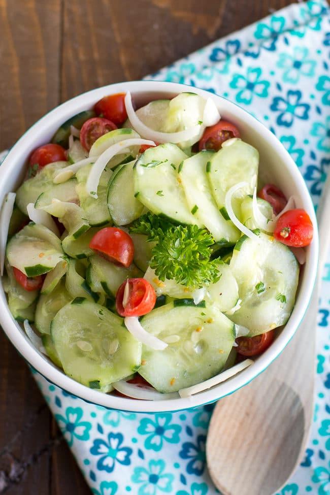 Cucumber Tomato Salad Recipe | Cucumber Tomato Onion Salad | Summer Salad Recipe | Easy Cucumber Salad