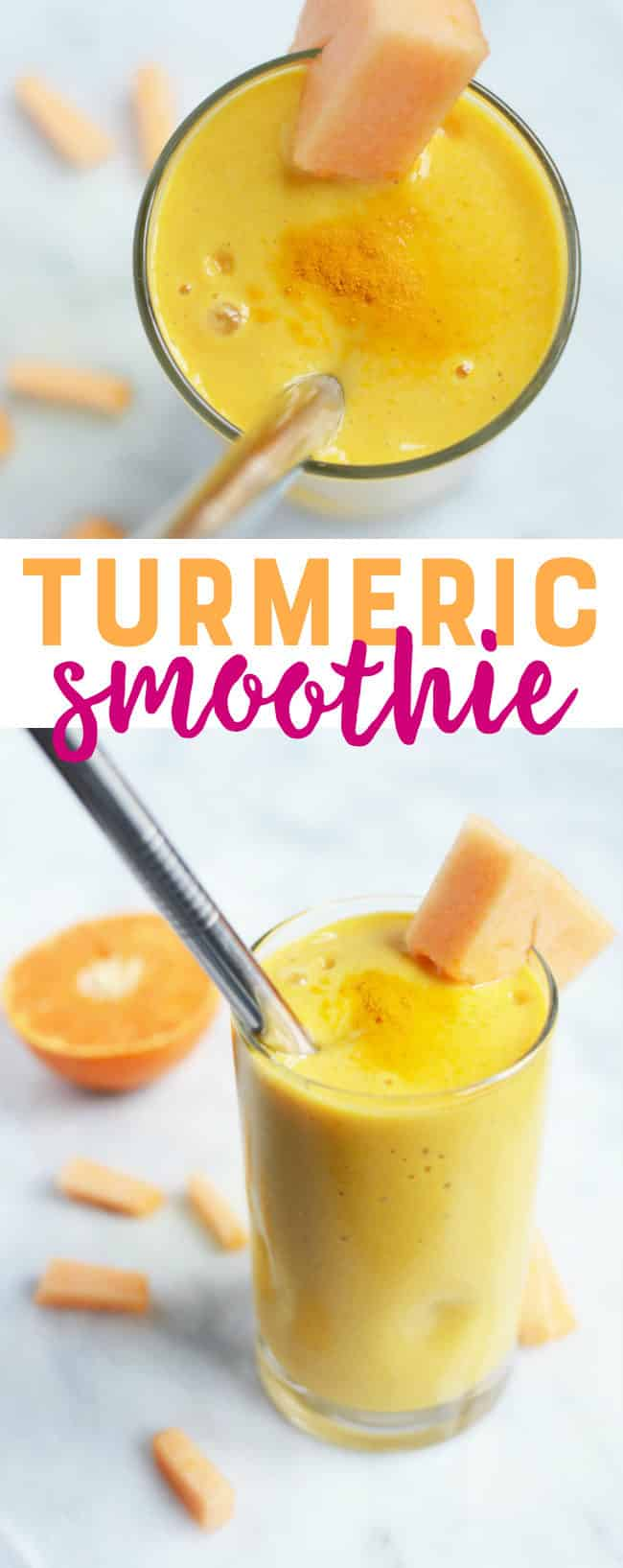 Turmeric Smoothie Recipe - This easy turmeric smoothie is tasty and nutritious.
