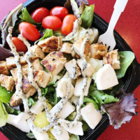 Wendy's Fresh Mozzarella Chicken Salad!